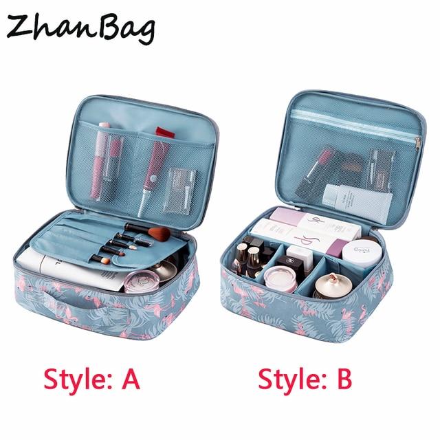 Brand Flamingo Series Travel Portable Cosmetic Bag c90866ebfc550