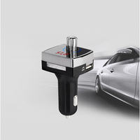 5V 3.1A Dual USB Car Charger Bluetooth Wireless FM Transmitter ZDG02 Car Radio Adapter USB Charger MP3 Player Hand Free Answer