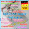 From Germany Free VAT 6040 CNC Router Milling Machine Mechanical Kit Screw Aluminum Clamp 80mm