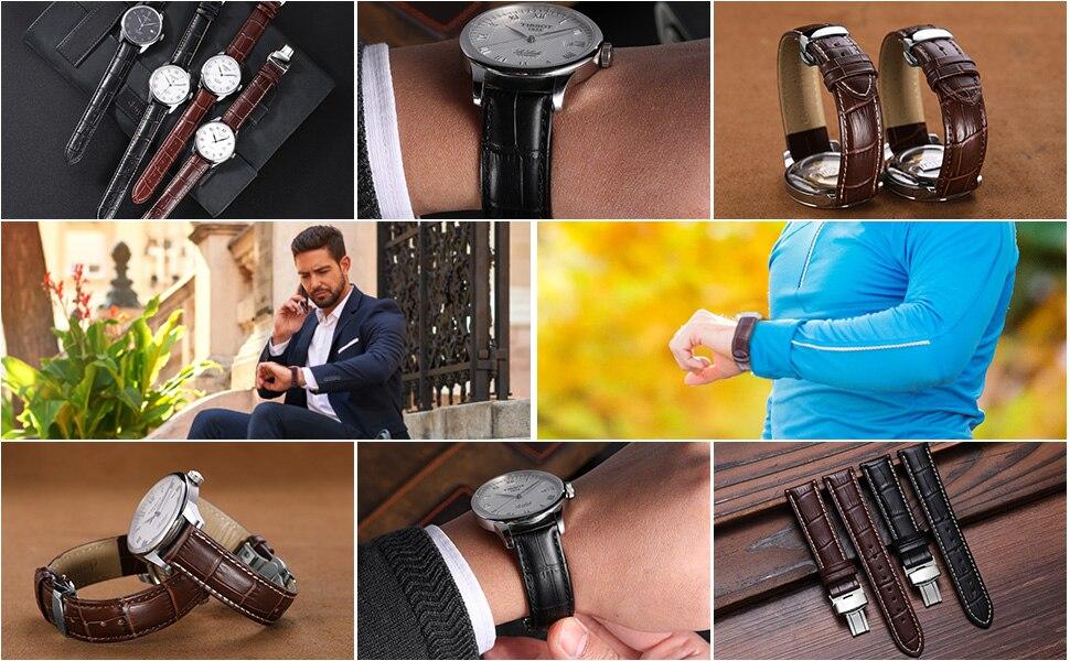 watch strap silver