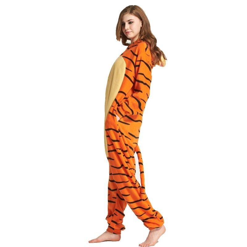 56e894898b Unisex 3D Tiger Onesie Costume Cosplay Winter Pyjamas Tigger Pajamas  Sleepsuit Sleepwear Cartoon animal conjoined onesies pajama-in Anime  Costumes from ...
