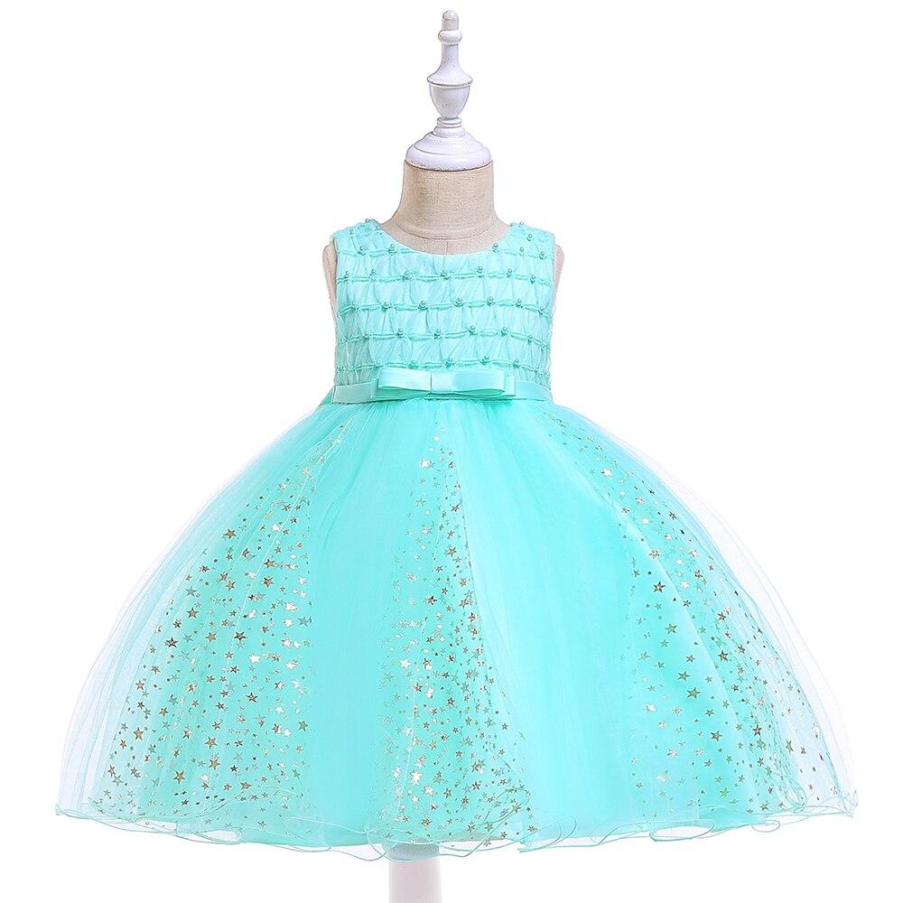 BBZAI marque garl dentelle gaze princesse robe enfants sans manches robe de mariée dame frivole fille robe fille saia raiponce jupe