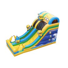 customized inflatable bouncer toys with CE/UL blower high quality commercial inflatable slide for kiddie outdoor sport