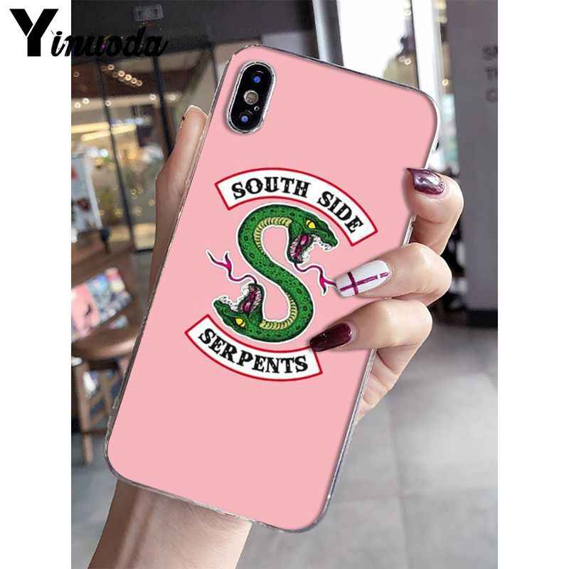 Yinuoda Riverdale South Side Serpents DIY Painted Beautiful Phone Case for Apple iPhone 8 7 6 6S Plus X XS MAX 5 5S SE XR Cover