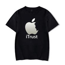 Christian T-Shirt Apple iTrust Jesus