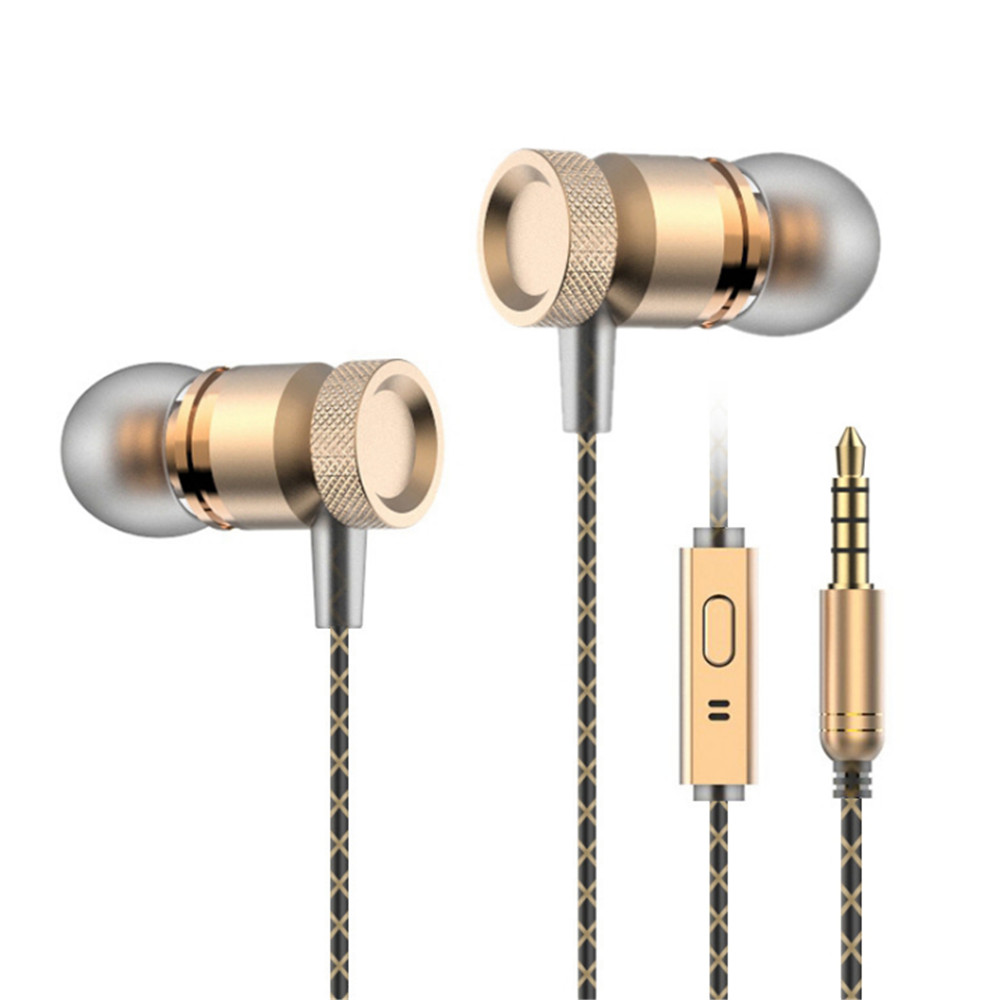 20180310 xiangli In-ear wheat wire control metal earphones for mobile phone wholesale 65.88