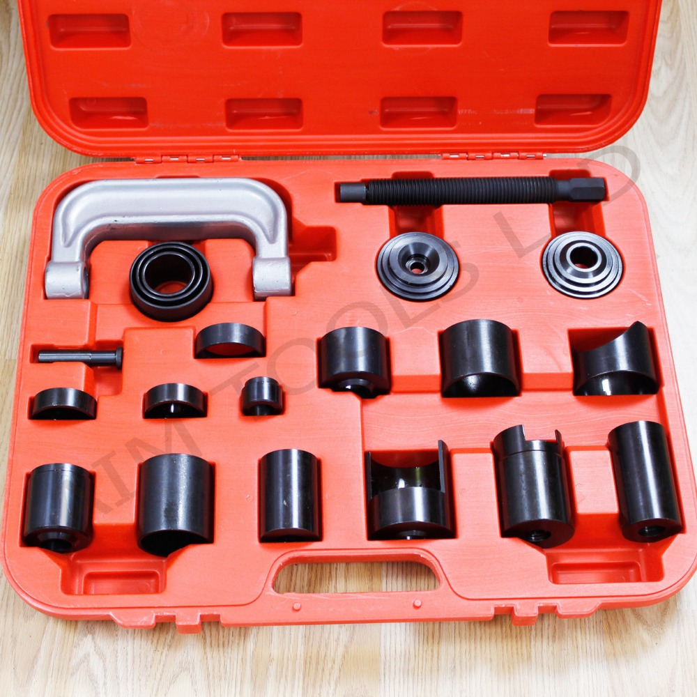 21PCS Ball Joint Service Auto Repair Remover Adapter Master Tools Kit Set