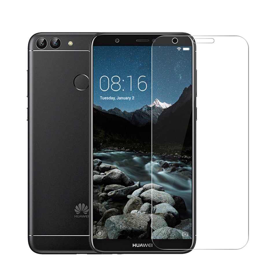tempered glass screen protector for huawei p20 lite honor 6x 7x 8 9 10 lite(8)