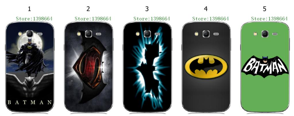 Online-custom BATMAN hot hard plastic back cover case for Samsung Galaxy Grand Neo I9060 Free Shipping