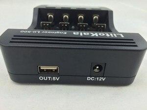 Image 5 - Lii 500 משולב מטען 18650,18650 מטען 26650 מטען LiitoKala, מבחן קיבולת, פלט USB 5 V, צג lcd גדול.