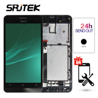Warranty 5 0 1280x720 IPS Display For ASUS Zenfone 5 LCD Touch Screen A501CG T00J Digitizer