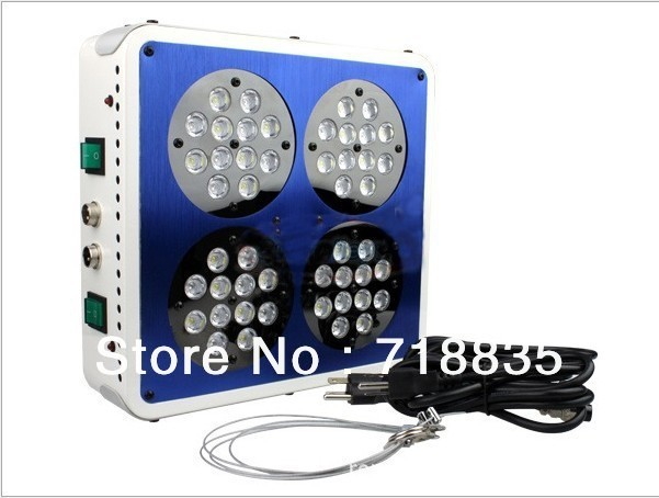 2013 hot sale 144W Apollo LED Grow Light red and blue light free shipping