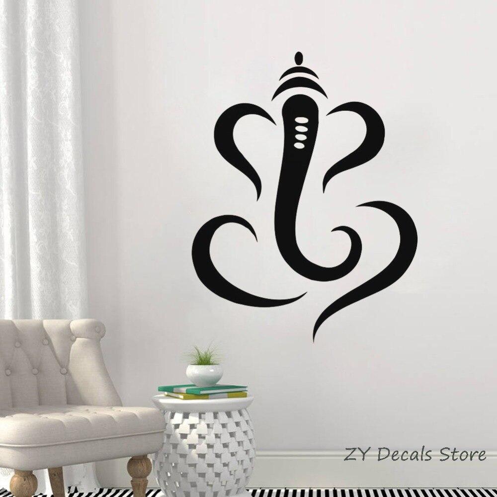 Om God in Hindi Vinyl Die-Cut Peel N/' Stick Decals Hindu Religious Symbol