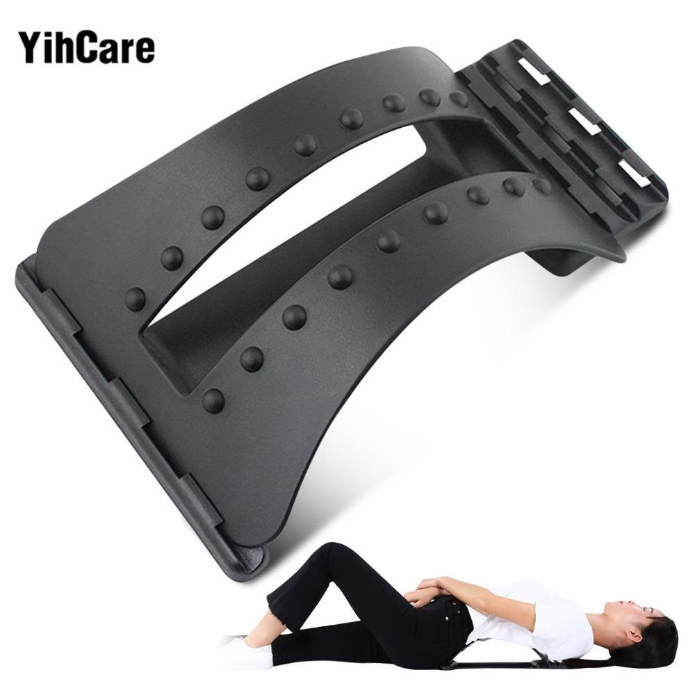 YihCare Back Massage Stretcher Stretching Magic Waist Support Neck Relax Spine Pain Cervical Lumbar Traction Humpback Device hot selling back massage stretcher stretching magic lumbar support waist neck relax mate device spine