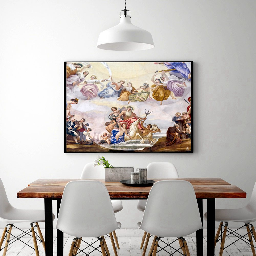 Online Shop Poster and Print Canvas Painting Apotheosis of ...