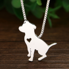 Buy pitbull pendant and get free shipping on aliexpress pitbull pendant necklace animal dog collier girlfriend gift best friend jewelry 15pcschina aloadofball Gallery