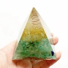 Piramide orgonite aventurina