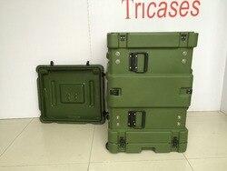 Tricases RU080 RU-Serie 19'Rack Casi Antiurto Antipolvere custodia Stagna per le apparecchiature di comunicazione
