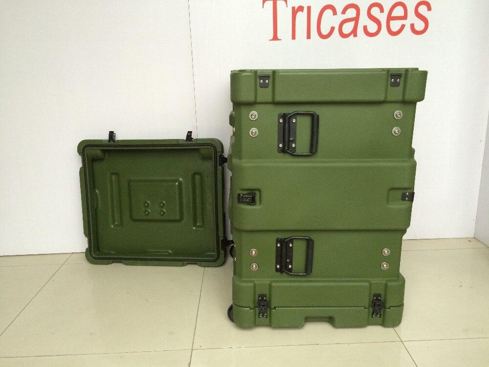 Tricases RU080 RU-Series 19'Rack Cases Shockproof Dustproof Watertight For Communication Equipment Case