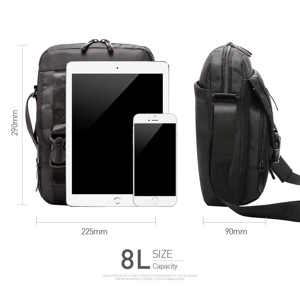 """BESTLIFE мужская сумка через плечо 10,2 """"сумка через плечо планшет маленькая сумка для мальчика Мужская Противоугонная портативная водонепроницаемая сумка 8L"""