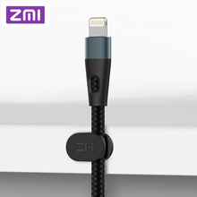 ZMI New Lightning USB Cable MFi Certified Premium Nylon PP Braided Sleeve Charger For iPhone 1M/2M AL806 Data Sync Cables