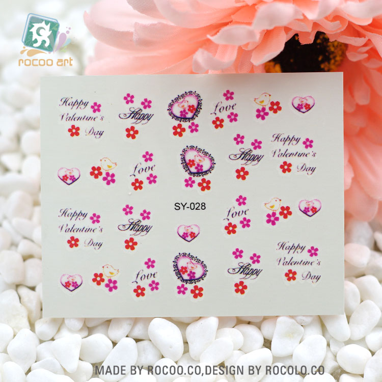 Sy028new Beauty Small Flower Nail Art Decoration Manicure Tips