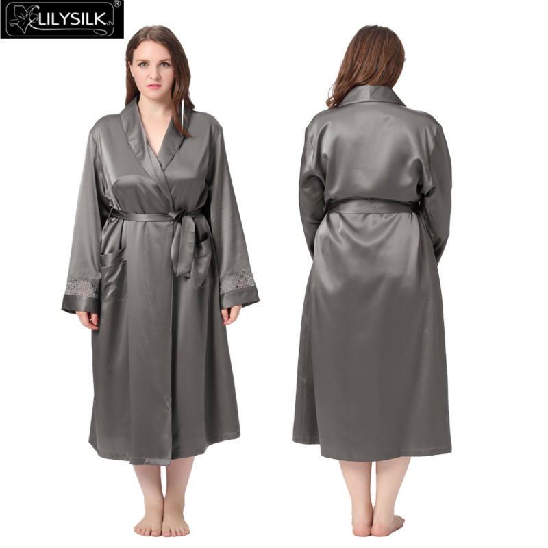 1000-dark-gray-22-momme-delicately-designed-silk-robe-plus-size-01