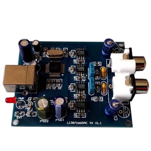 Image 5 - new 4 X  L1387DAC four pcs TDA1387 DAC hifi USB decoder for amplifier better than TDA1543  G4 011