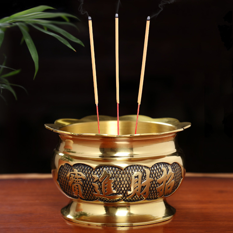 buddhism gifts fine copper incense buddhist solemn temple decoration incense burners for. Black Bedroom Furniture Sets. Home Design Ideas