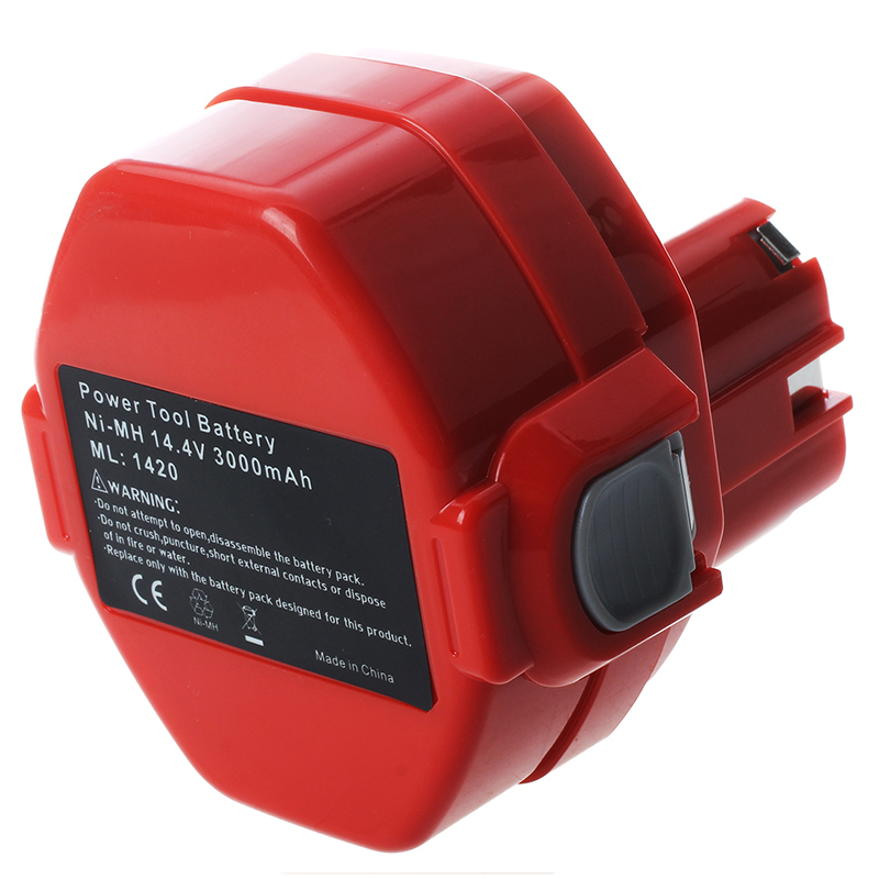 Image 3 - 14.4V 3.0Ah NiMH Battery for Makita 6281D 6333D 6336D 6337D 6339D Red-in Batteries from Consumer Electronics