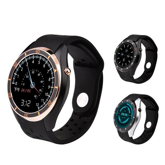 I3 Android 5.1 Смарт часы для телефона Android синхронизации SMS Шагомер монитор сердечного ритма WI-FI GPS SmartWatch силиконовый спортивный браслет