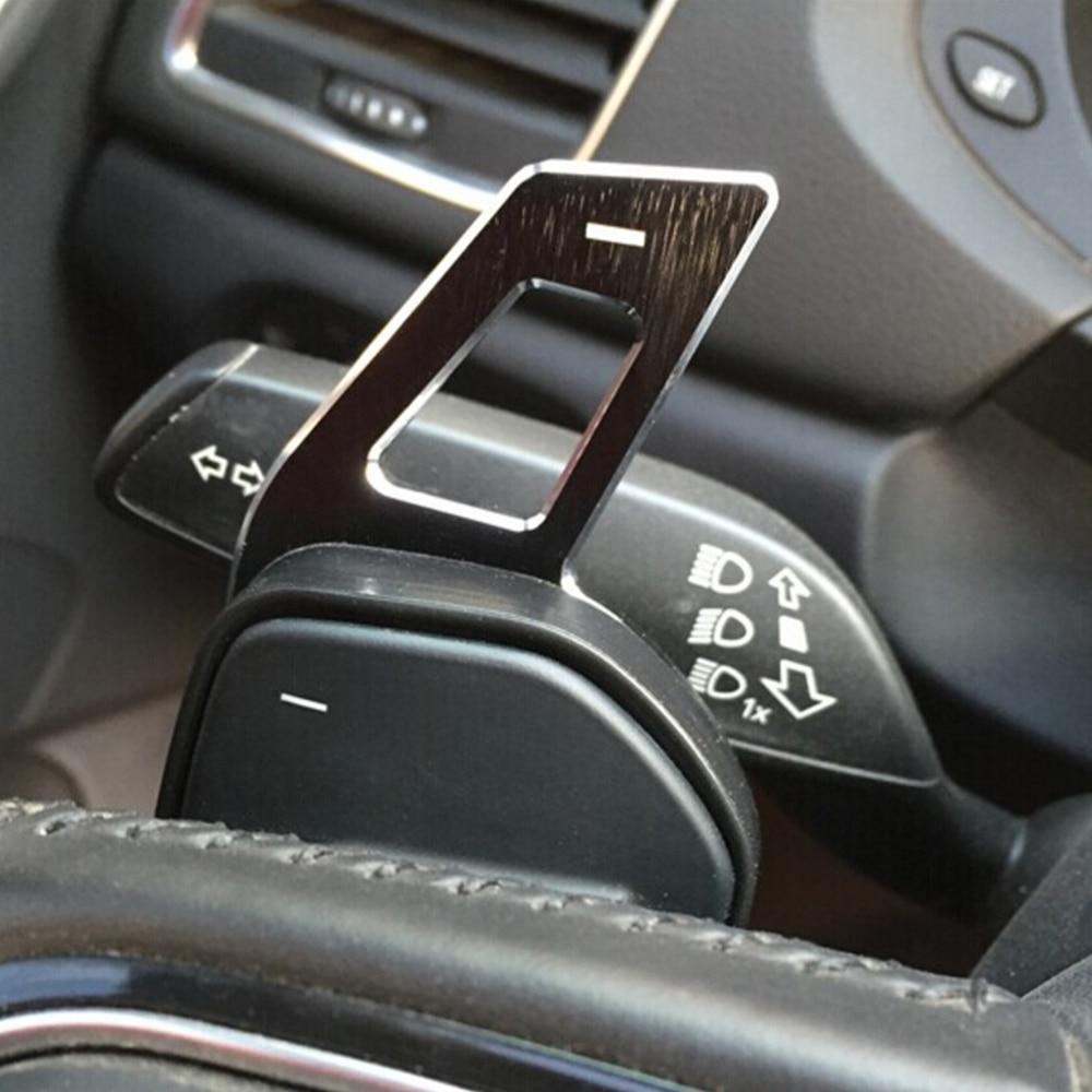 Автомобильное рулевое колесо DSG весло Удлинительное переключение наклейка украшение подходит для сиденья Alhambra/Ateca/Leon FR/Leon 4 5F-in Наклейки на автомобиль from Автомобили и мотоциклы