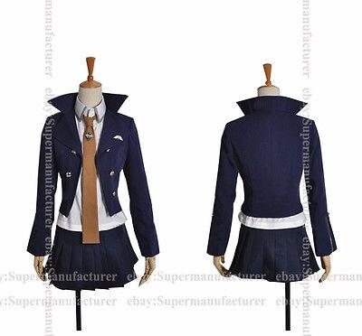 Anime Dangan Ronpa Costume Cosplay Custom Kirigiri Kiyouko Uniform