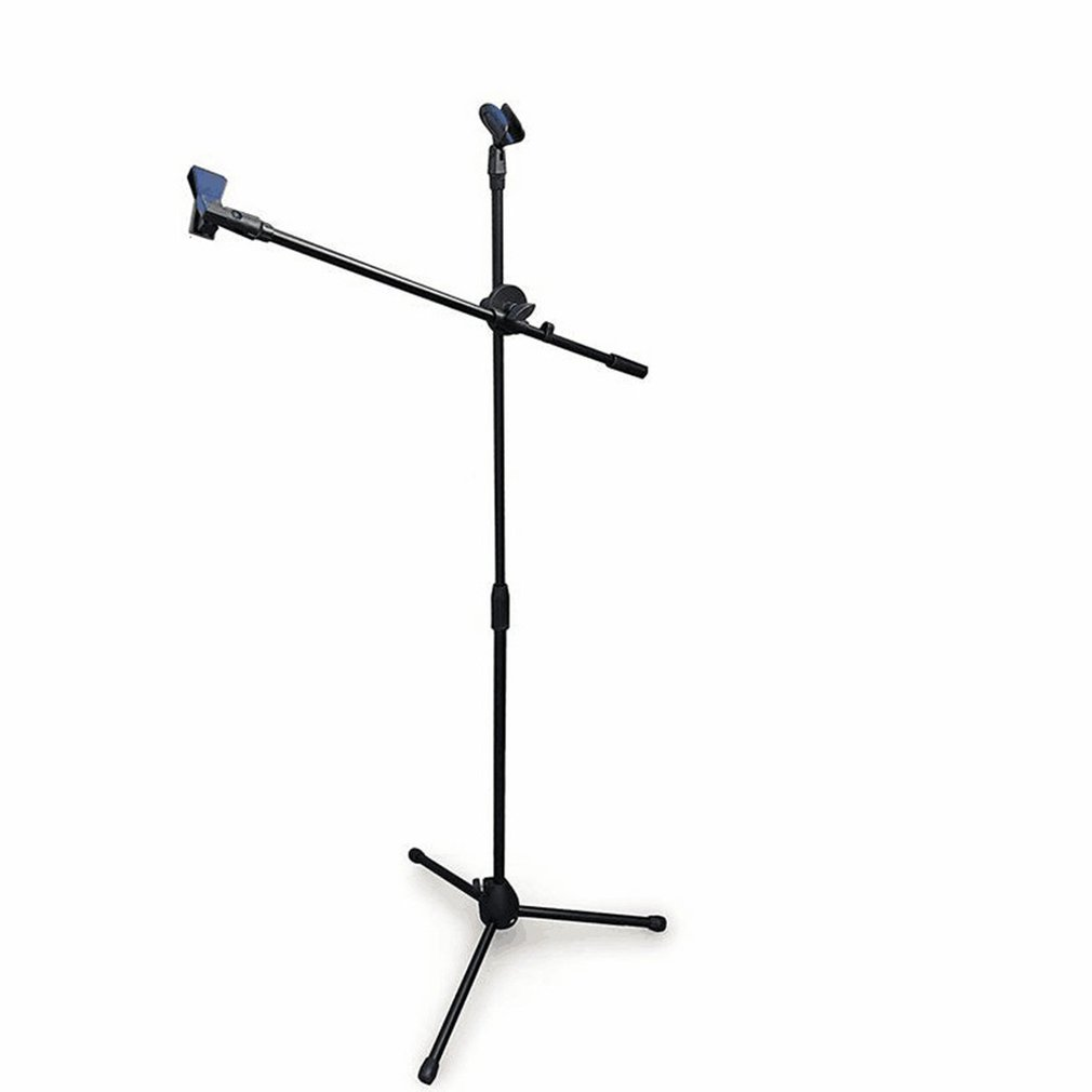Adjustable Studio Microphone Stand Suspension Boom Table Bracket Arm Holder Microphone Shock Mount