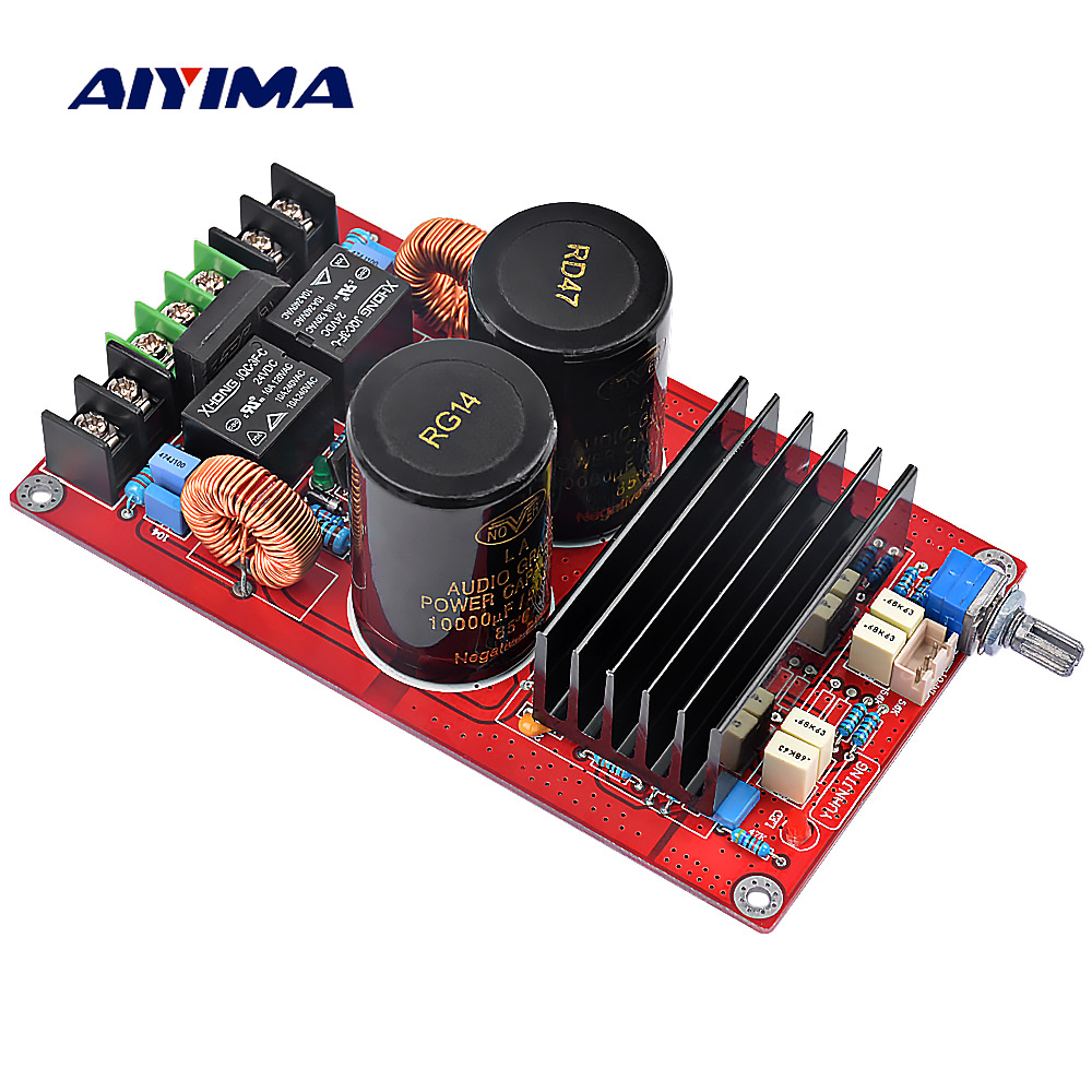Aiyima TDA8950 Digital Audio Amplifier Board High Power 2*120W 2 Channels amplifiers with speaker protection цена
