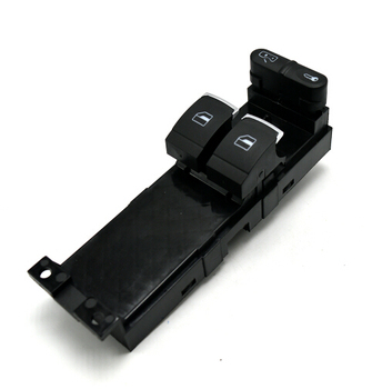 Envío rápido! nueva calidad de Hight interruptor de control de ventana electrónico maestro para Skoda Fabia Octavia VW Golf Mk4 2 puerta 1j3 959 857a