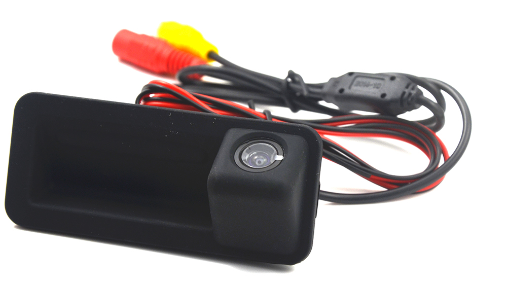 wired wireless car rear camera trunk handle switch for ford Mondeo ...