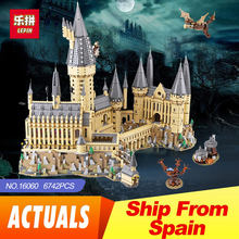 2018 Lepin 16060 Harry Magic Potter Hogwarts Castle School Compatible Legoing 71043 Building Blocks Bricks Educational Toy Model(China)