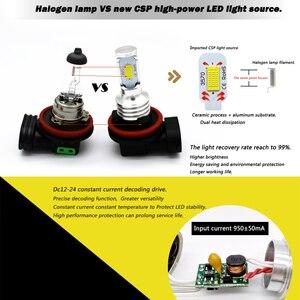 Image 2 - WLJH 2x Canbus 12V 24V H8 Led Bulb Fog Lamp Bulb H8 Light For BMW E39 E46 E60 E70 E72 E90 E92 E93 E81 E82 E84 F10 F15 F20 F25