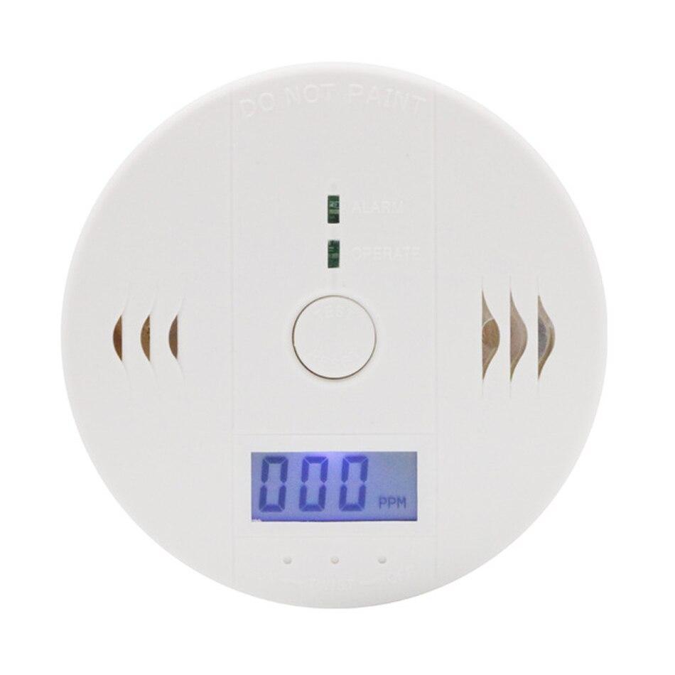 LCD Carbon Monoxide Poisoning Gas Warning Sensor Alarm Detector Kitchen Home Safety
