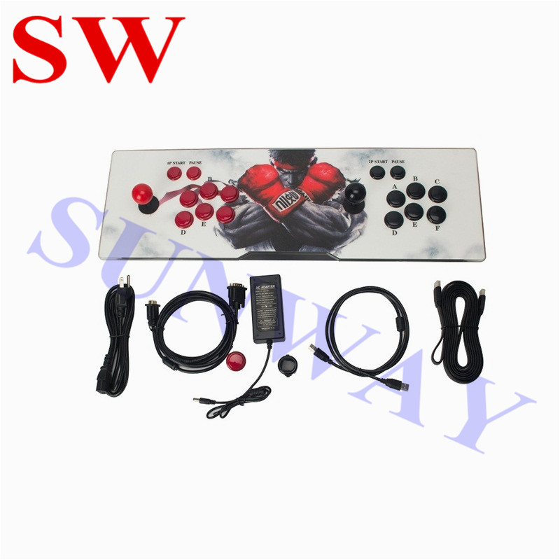 2070 in 1 Home Arcade Game Console Jamma Arcade Cabinet Street Fighters/ Pandora 9S Game Board for TV Arcade Game Family Machine image