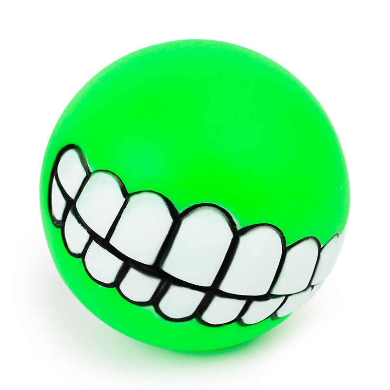ตลกสัตว์เลี้ยงสุนัข Puppy Cat Ball ของเล่น PVC Chew เสียงสุนัขเล่นดึงของเล่น Squeak Pet Supplies สุนัขของเล่นสัตว์เลี้ยง