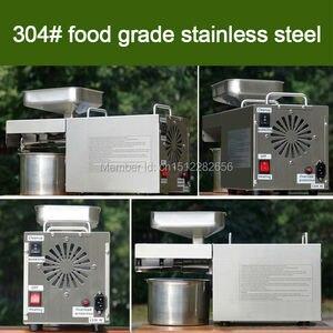 Image 4 - Máquina de óleo de imprensa fria automática de aço inoxidável, máquina de imprensa fria do óleo, extrator de óleo de sementes de girassol, prensa de óleo