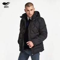 HAI YU CHENG Jacket Men Casual Diamond Parka Thick Anorak Windbreaker Men Winter Jacket Male Motorcycle Jacket Imported Coats