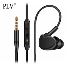 Sport Headphones With Microphone Earbuds Premium 3.5mm Heavy Bass Fashion Headphone Headset Mp3 Waterproof Headphones Earphones