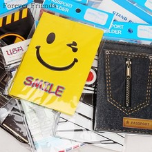 Hot selling PU PVC passport Cover business Card ID Holders for travel Free shipping with 24