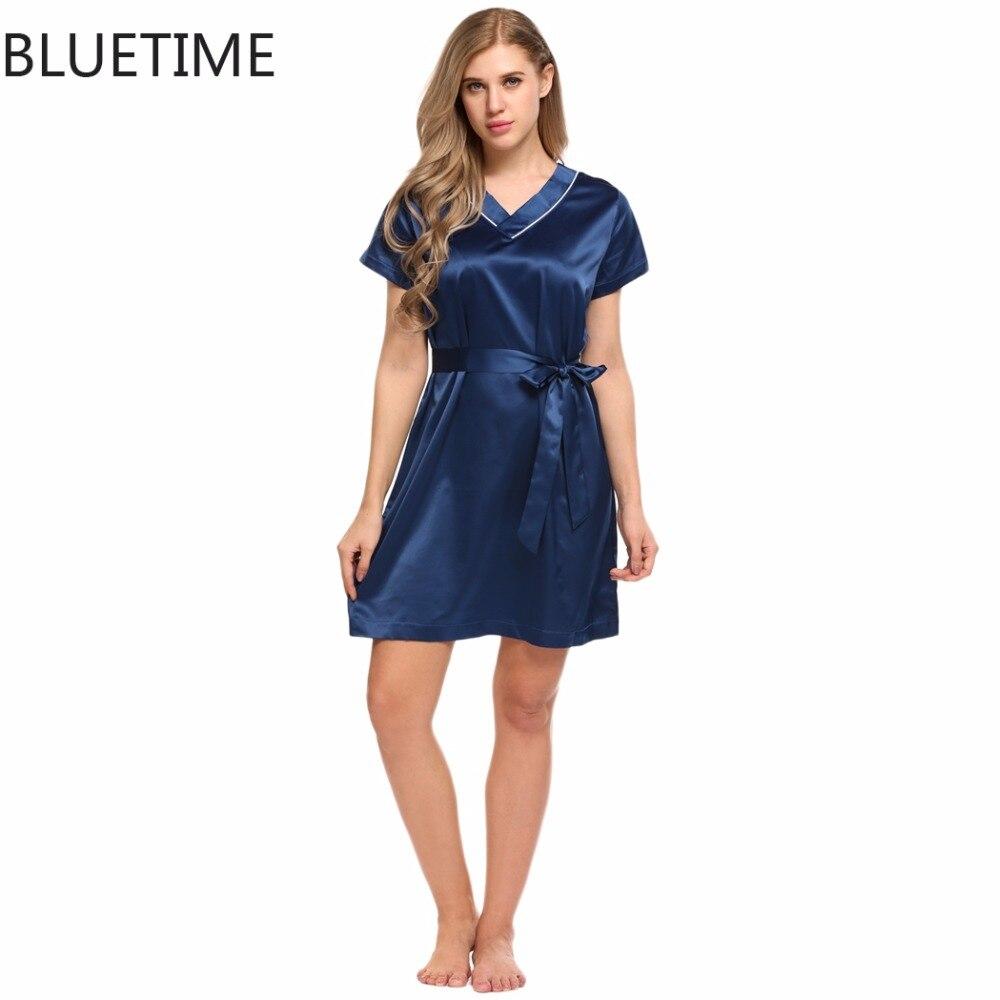 recherche de véritables promotion spéciale dégagement Automne Satin Femmes de vêtements de Nuit des Femmes Sexy ...
