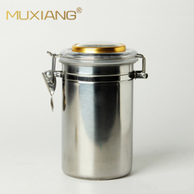 MUXIANG Stainless Steel Humidor Jar Clamp Airtight Lid for C