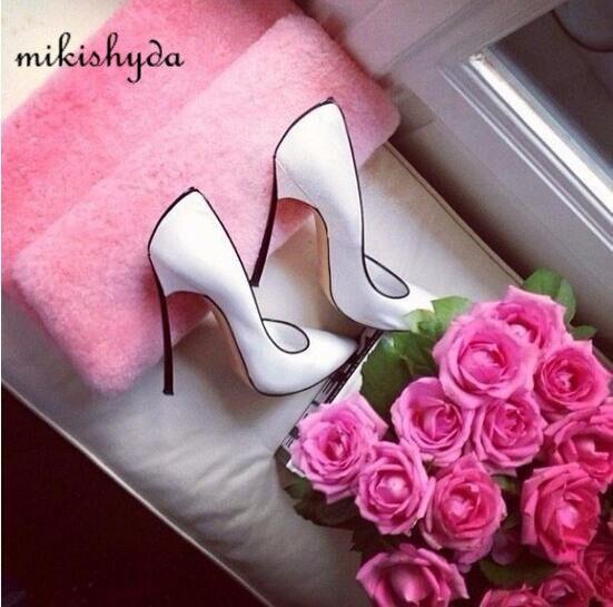 Afrikanska skor och matchande väskor italienska persika sexiga höga - Damskor