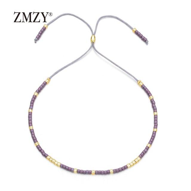 ZMZY Boho Style Miyuki Delica Seed Beads Bracelets for Women Friendship Bracelet Jewelry Colorful Charm Bracelet Femme Handmade 2